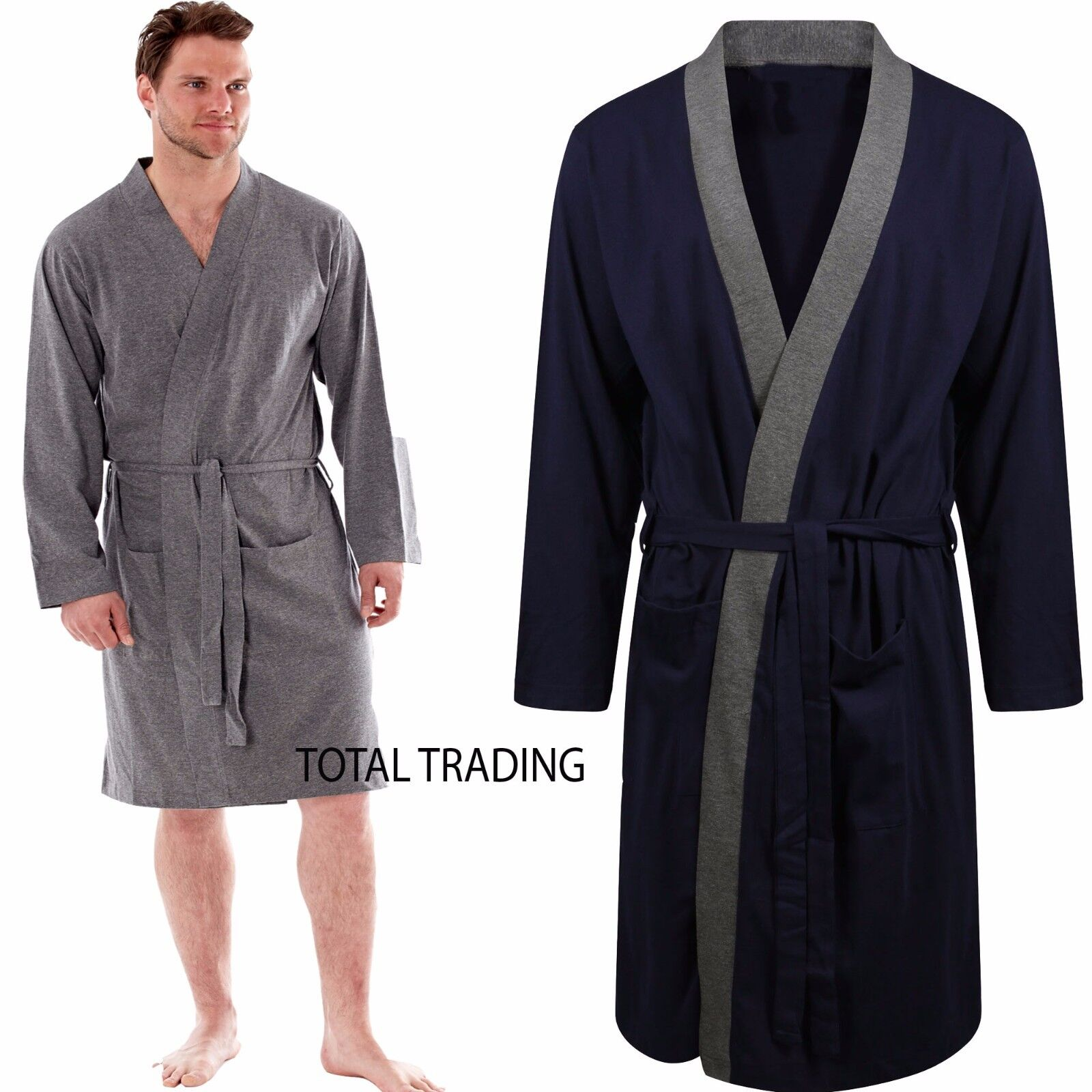 Cotton On Dressing Gown Mens Dressing Gown Gowns Robe Cotton Rich Jersey Summer