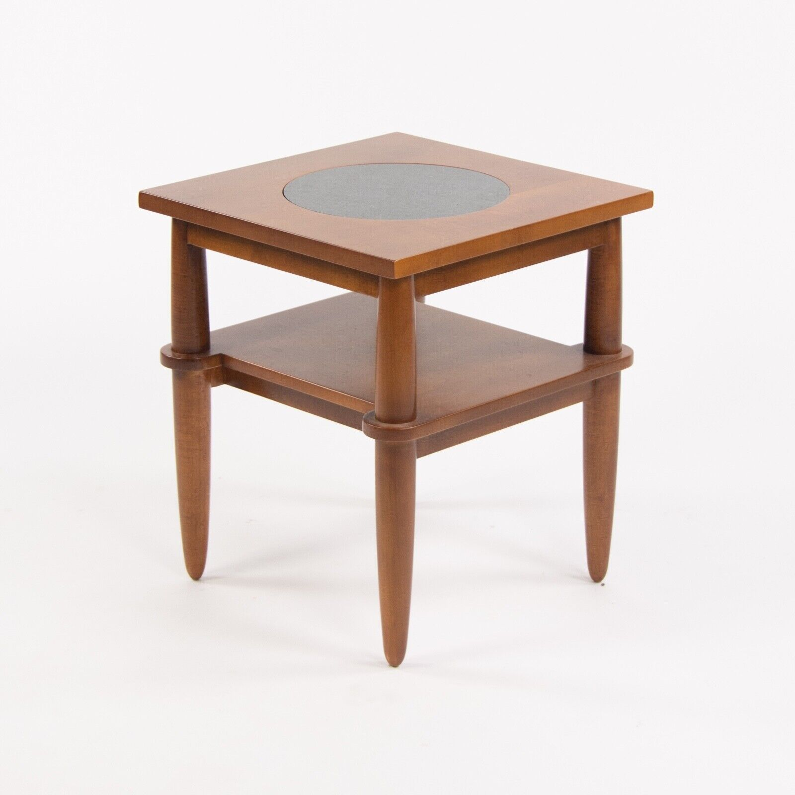 607ms Vintage Michael Graves Design End Side Table Cherry Post Modern Knoll Ebay