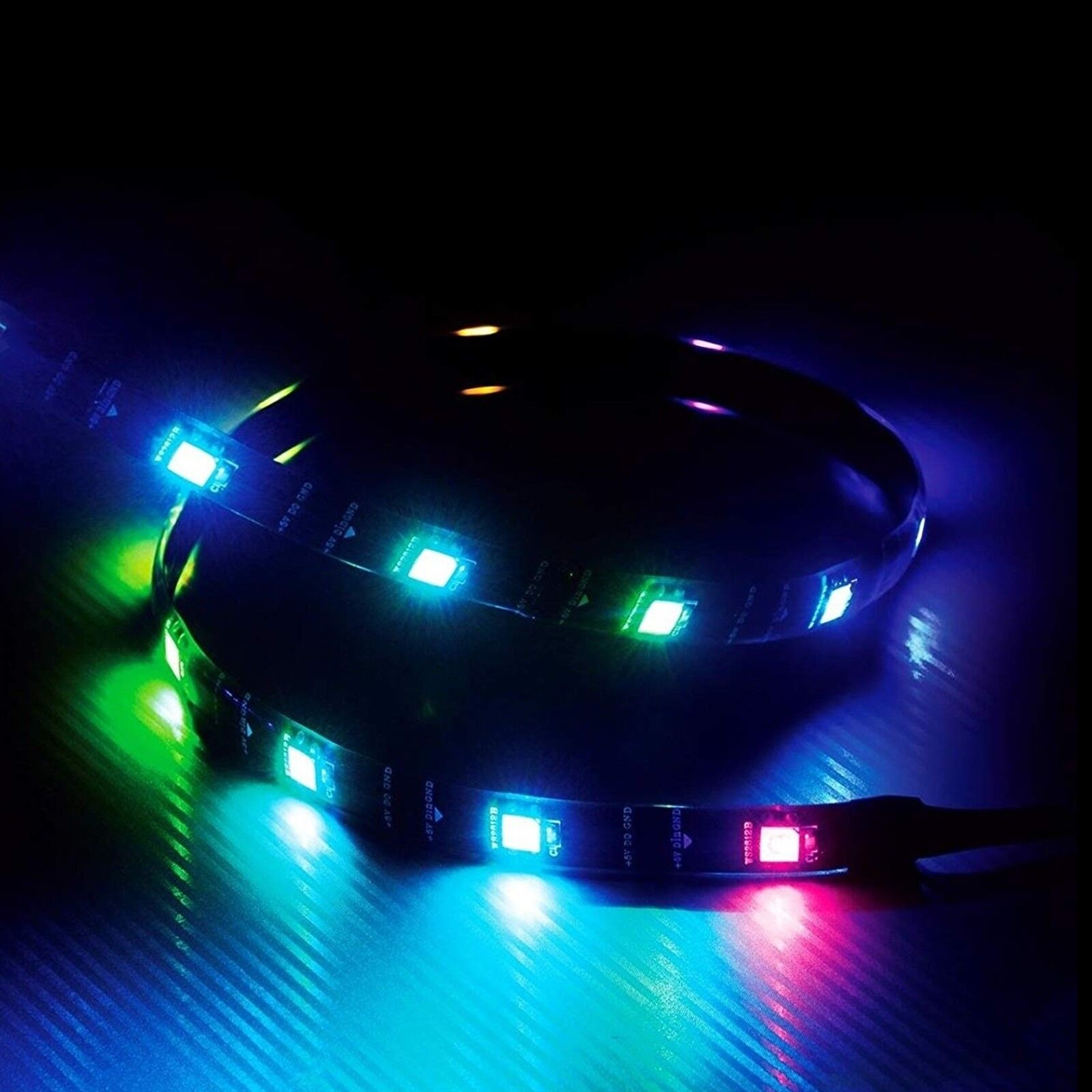 Led Light Strips Rgb Details About Akasa Vegas Mba 60cm Addressable Rgb Led Light Strip Magnetic 15 X Led S