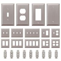 Wall Switch Plate Outlet Cover Toggle Duplex Rocker ...