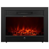 "Embedded 28.5"" Electric Fireplace Insert Heater w/ Remote ..."
