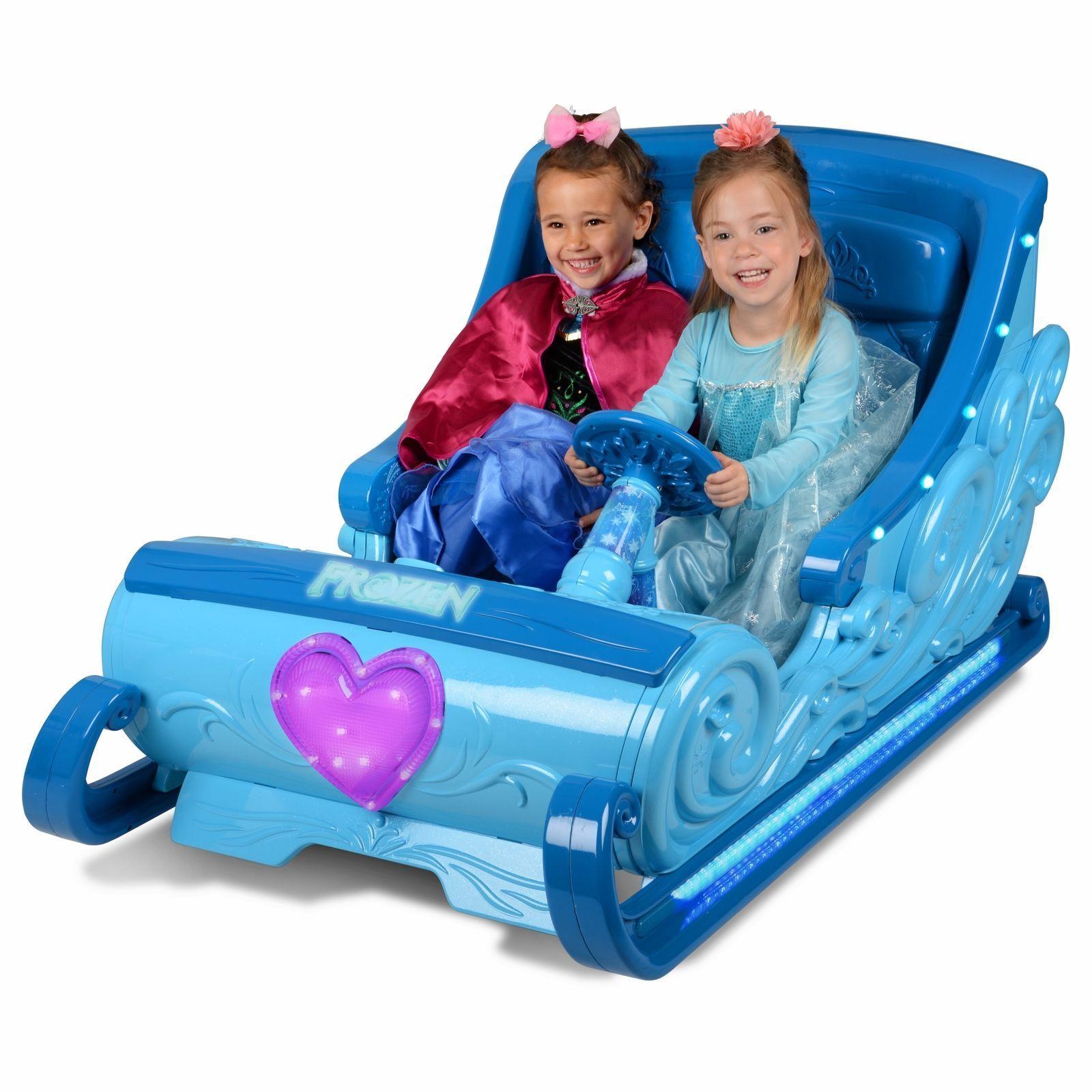 Disney Frozen 12 Volt Battery Powered Ride On Sleigh Toy