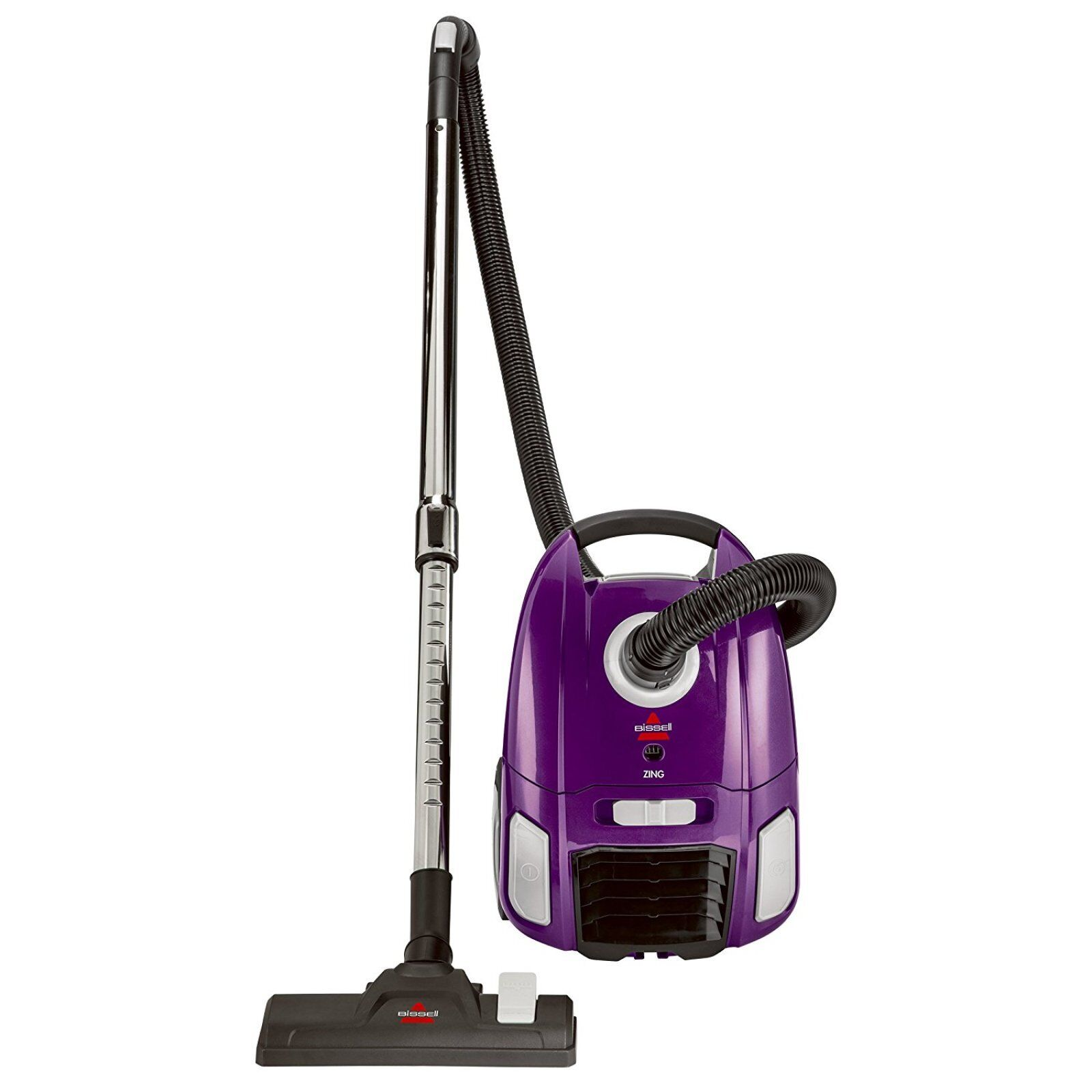 Carpet Cleaning Vacuum Details About Vacuum Cleaner Canister Bagged Rewind Corded Carpet Hard Floor Swivel Steering