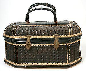 Antique Woven Basket Ebay