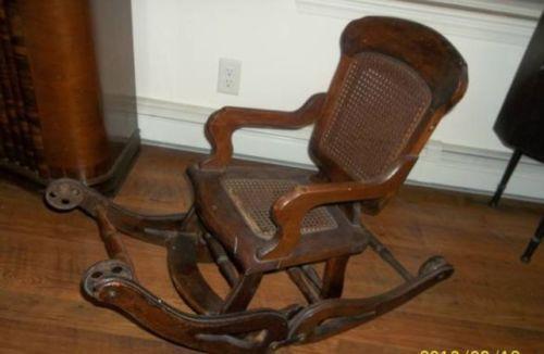 Antique High Chair Ebay