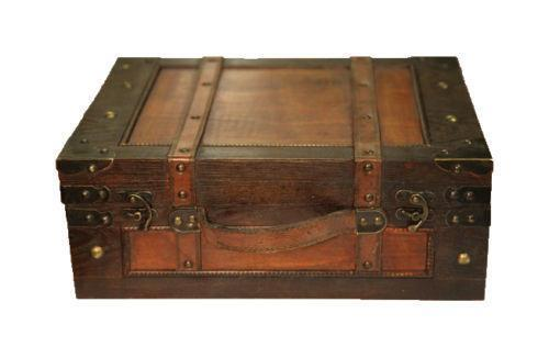 Wooden Storage Box Antique Ebay