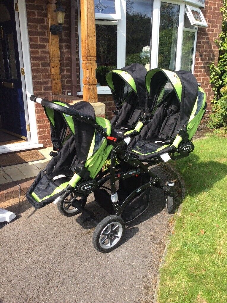 Silver Cross Pushchair Seat Unit Trippy Triple Triplet Pram In Stoke On Trent