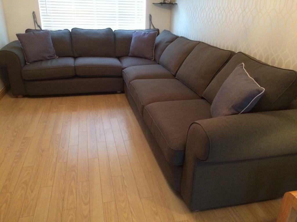 Grey Sofas For Sale Gumtree Corner Sofa - Extra Large 6 Seater | In Denny, Falkirk