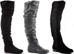 Thigh High Boots Womens Shoes Boots Ebay