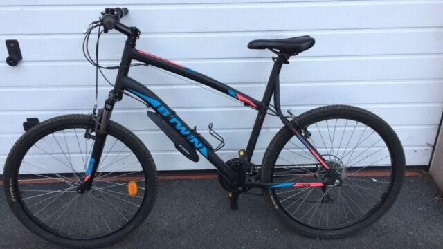Grey Sofa Gumtree Belfast Btwin Mountain Bike - Rockrider 340 **as Good As New** (xl