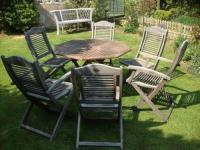 Used Patio Table and Chairs | eBay