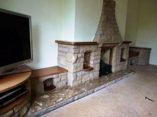 Stone Fireplace Fireplaces Surrounds Ebay