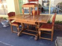 Oak Dining Table | eBay