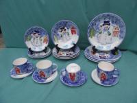 Snowman Dinnerware | eBay