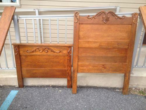 Antique Twin Bed Ebay