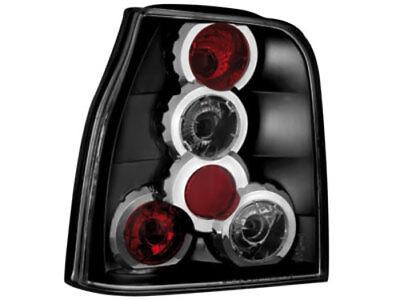 Klarglas Rückleuchten schwarz für VW Lupo Seat Arosa