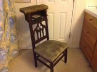 Antique Prayer Chair | Antique Furniture