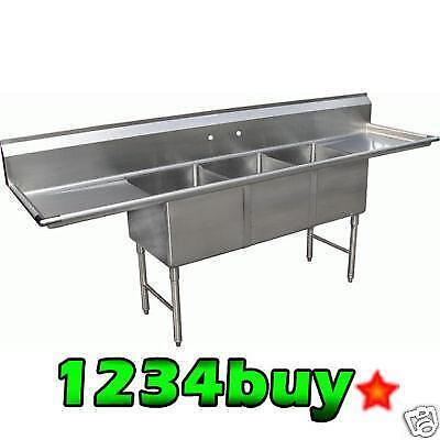 Used 3 Compartment Sink Ebay
