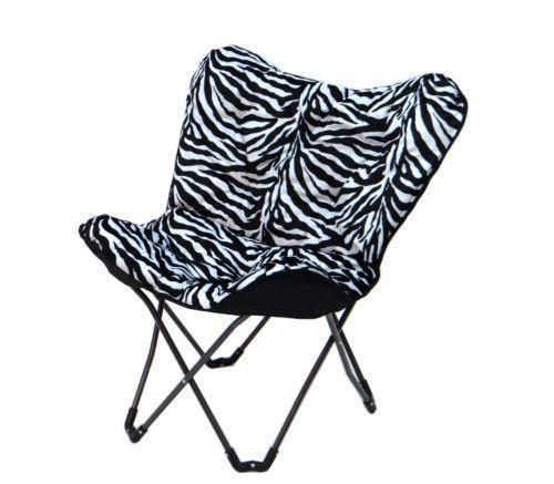 Zebra Chair Ebay