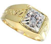 Mens Gold Plated Rings   eBay