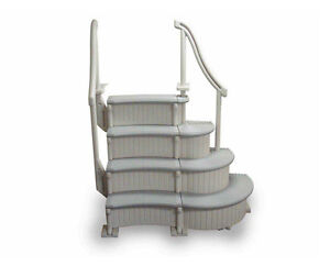 Swimming Pool Ladder Steps For Above Ground Pool Curved