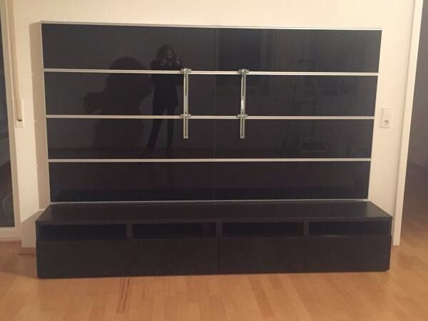For Sale Bargainikea Framsta Tv Unit With Wall Tv