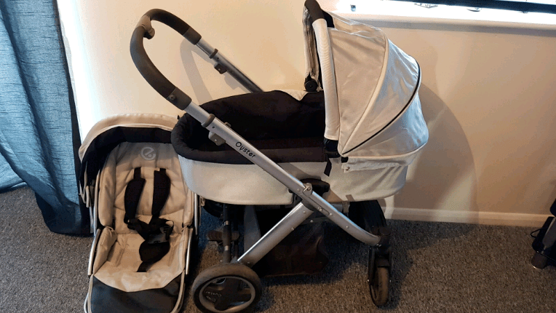 Oyster Max Tandem Adapters Oyster Limited Edition Pram Pushchair In Leicester