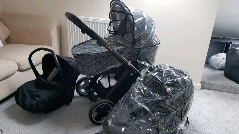 Babyzen Stroller Instructions Oyster Black Travel System With Car Seat In Blackpool