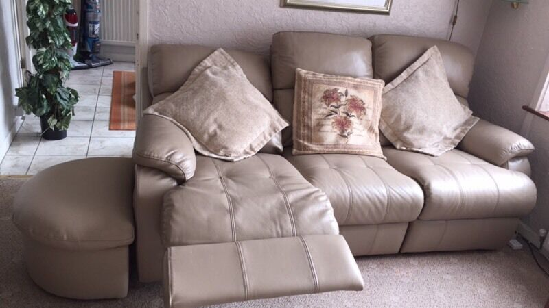 Chesterfield Sofa In Wales Courtneys' Couches - £100 For Both Flash Sale | In Merthyr