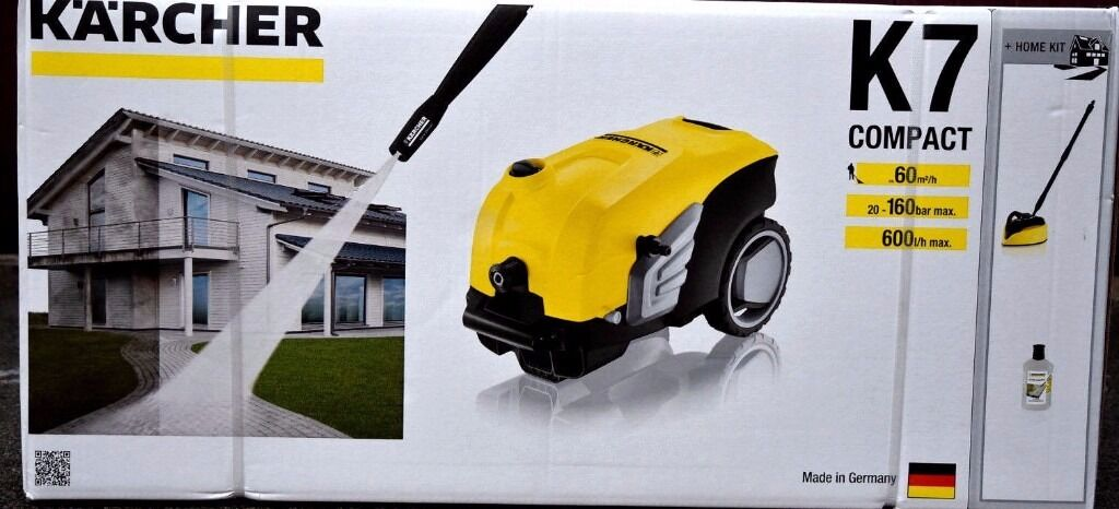 Karcher K7 Compact Karcher K7 Compact Home Pressure Washer (brand New
