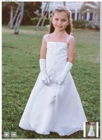 Girls White Dress Size 14