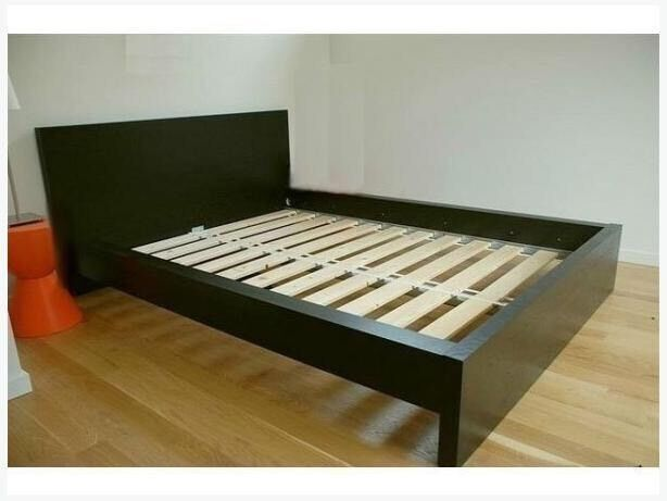 Ikea Skorva Bed Ikea Malm Bed Black | In Basford, Nottinghamshire | Gumtree