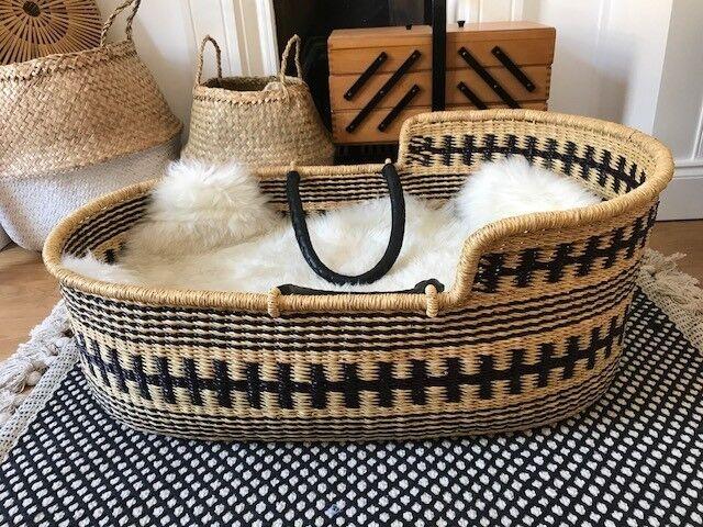 Design Dua Organic Moses Basket The Bilia Bassinet W
