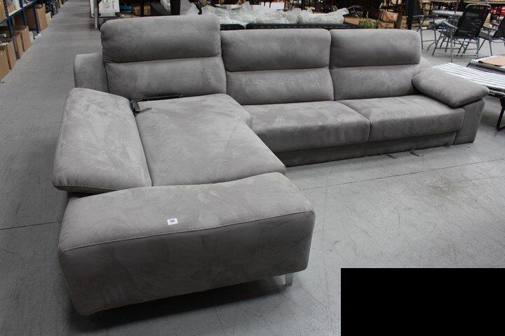 Dfs Sofas Glasgow Dfs Guest Grey Suede Corner Sofa £1800 In Dfs Right Now