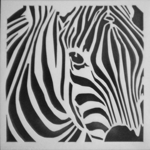 Animal Print Wallpaper For Walls Zebra Stencil Ebay
