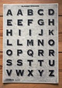 large sticker letters - large alphabet stickers the ...