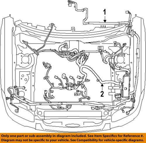 2001 nissan maxima engine wiring harness