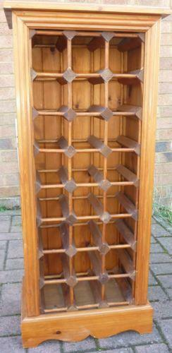 Large Dresser Pine Wine Rack | Ebay