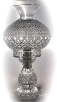 Crystal Electric Hurricane Lamp   eBay