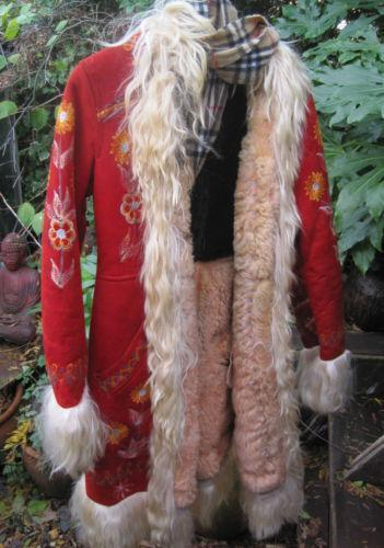 Sheepskin Afghan Coat | Ebay