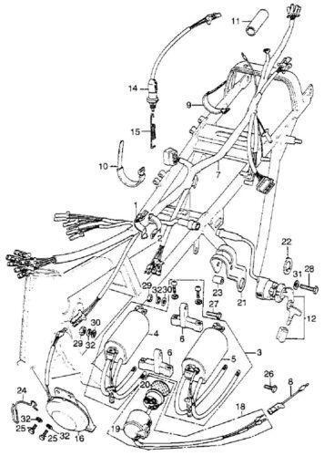 cb750 wiring diagram