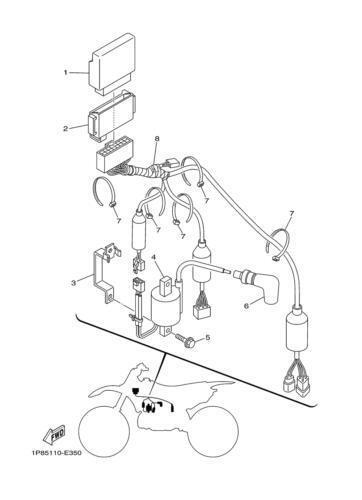 1986 yz250 wiring diagram