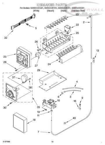 kenmore ice maker replacement parts