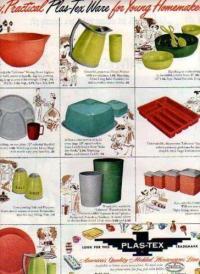 Vintage Plastic Dinnerware | eBay