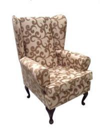 High Back Wing Chair | eBay