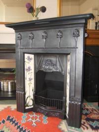 Art Nouveau Fireplace | eBay