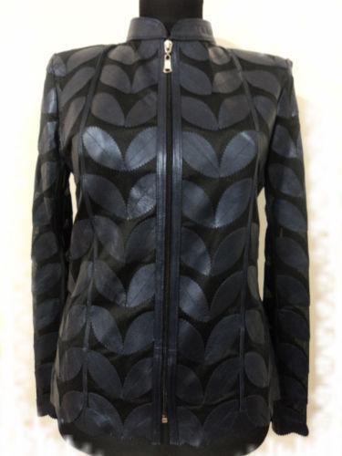 Leather Leaf Jacket Ebay
