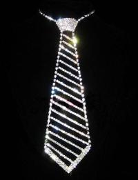 Rhinestone Necktie: Jewelry & Watches | eBay