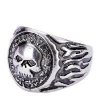 Winged Skull Ring | eBay