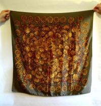 ebay guide for fake hermes scarf, brown birkin bag